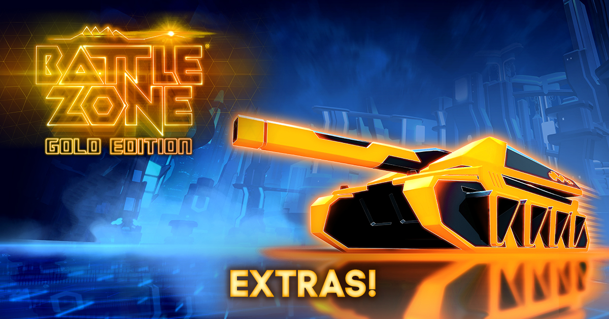Battlezone Gold Edition Extras